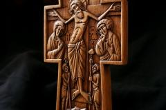 Крест настенный 25x9см